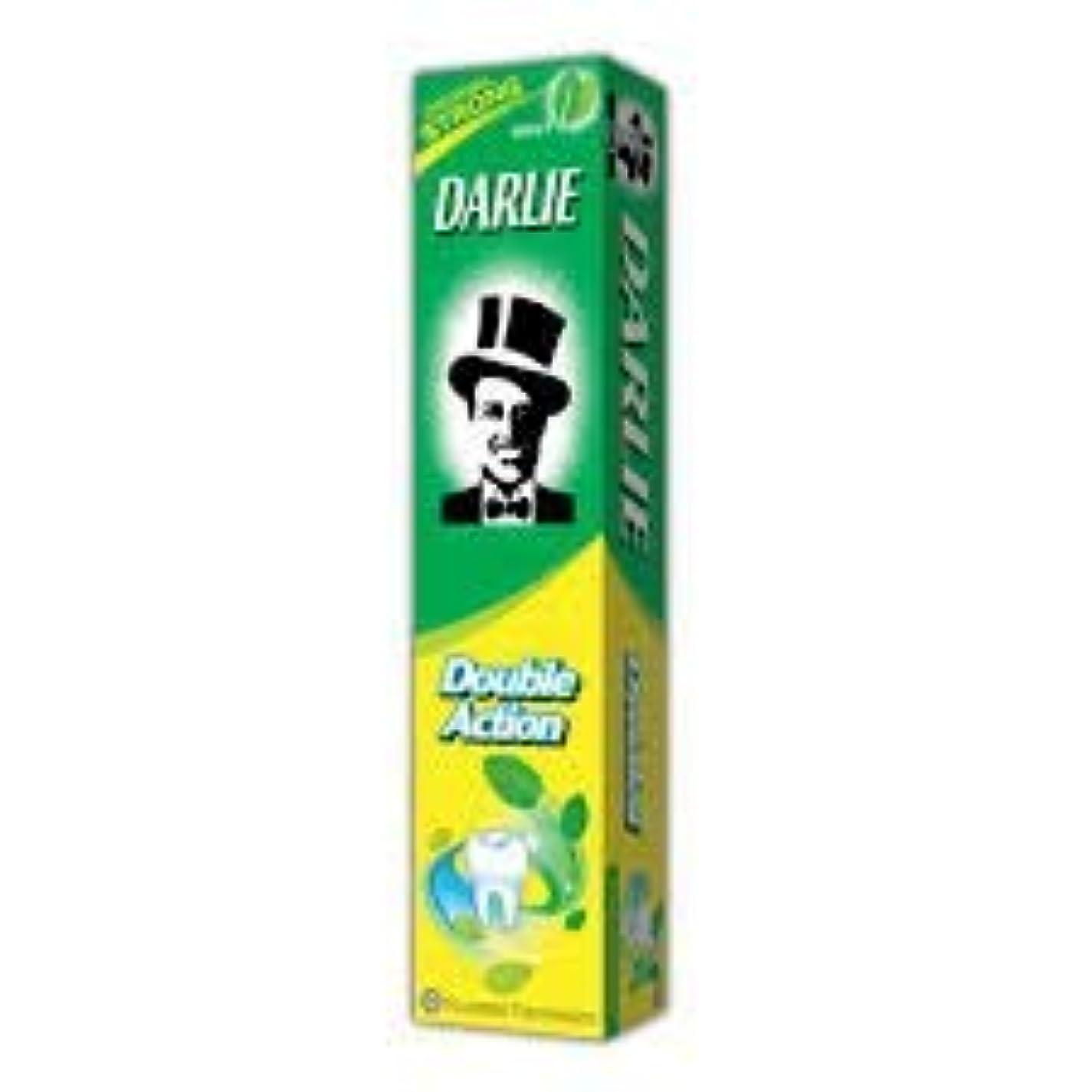 トランスペアレント高音男性DARLIE 歯磨き粉ジャンボ 250g-12 時間のためのより長く持続する新鮮な息を与える-効果的に経口細菌を減少させます