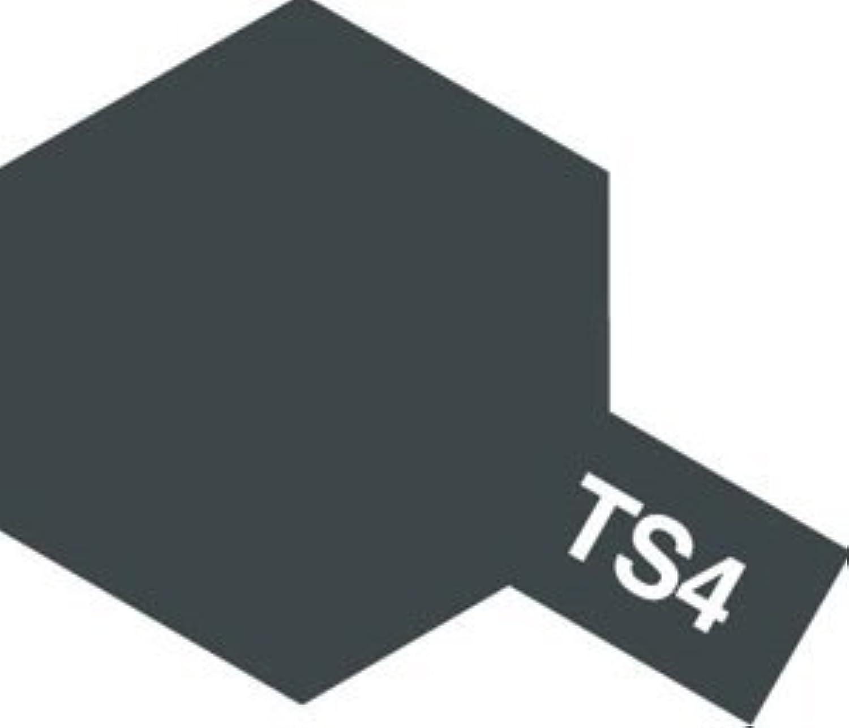 タミヤカラー スプレーカラー TS-4 ジャーマングレイ
