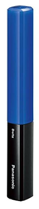 セッティング最近雑種パナソニック 音波振動ハブラシ ポケットドルツ(歯間ケア) 青 EW-DS29-A