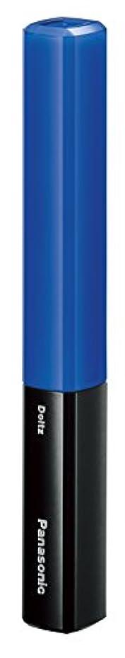 小麦非行合理的パナソニック 音波振動ハブラシ ポケットドルツ(歯間ケア) 青 EW-DS29-A