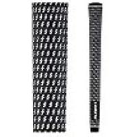 Lamkin Crosslineジャンボグリップ( + 1 / 8 ) (色:ブラック/ホワイト、コアサイズ: .580 inches )