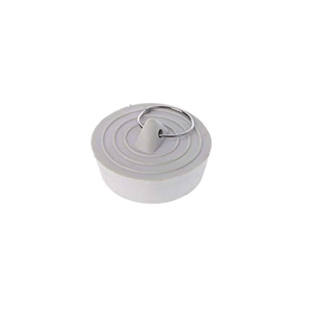カウントアップ振動させる疲労Lamdooラバーシンク排水ストッパープラグ付きバスタブキッチン浴室用1