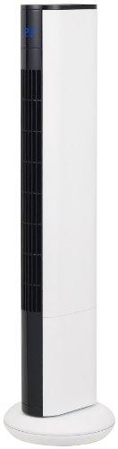 RoomClip商品情報 - Pieria(ピエリア) スリムタワーファン ホワイト フルリモコン式 風量3段階切替 減光機能付き PIR-383 WH