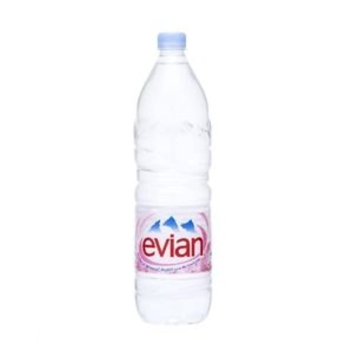 クラス息苦しいにはまって【ケース販売】ミネラルウォーター エビアン(evian)ペットボトル1.5L×24本セット まとめ買い dS-168767