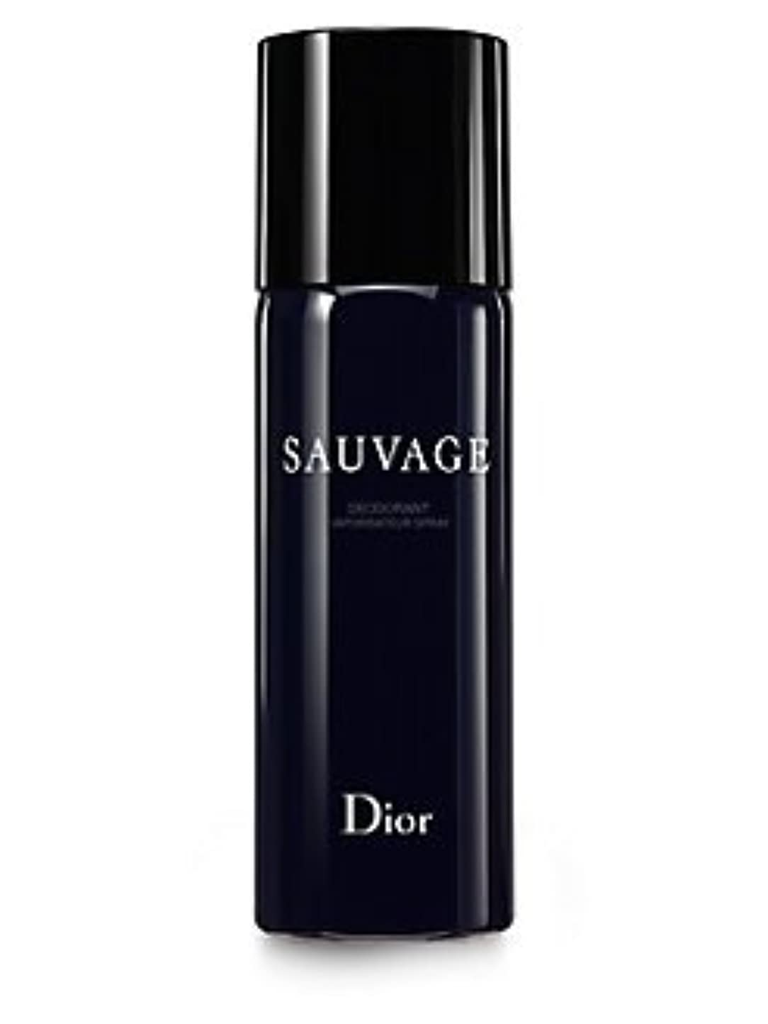バルセロナ予知ブリードDior Sauvage (ディオール サベージュ ) 5.0 oz (150ml) Deodorant Spray by Christian Dior for Men