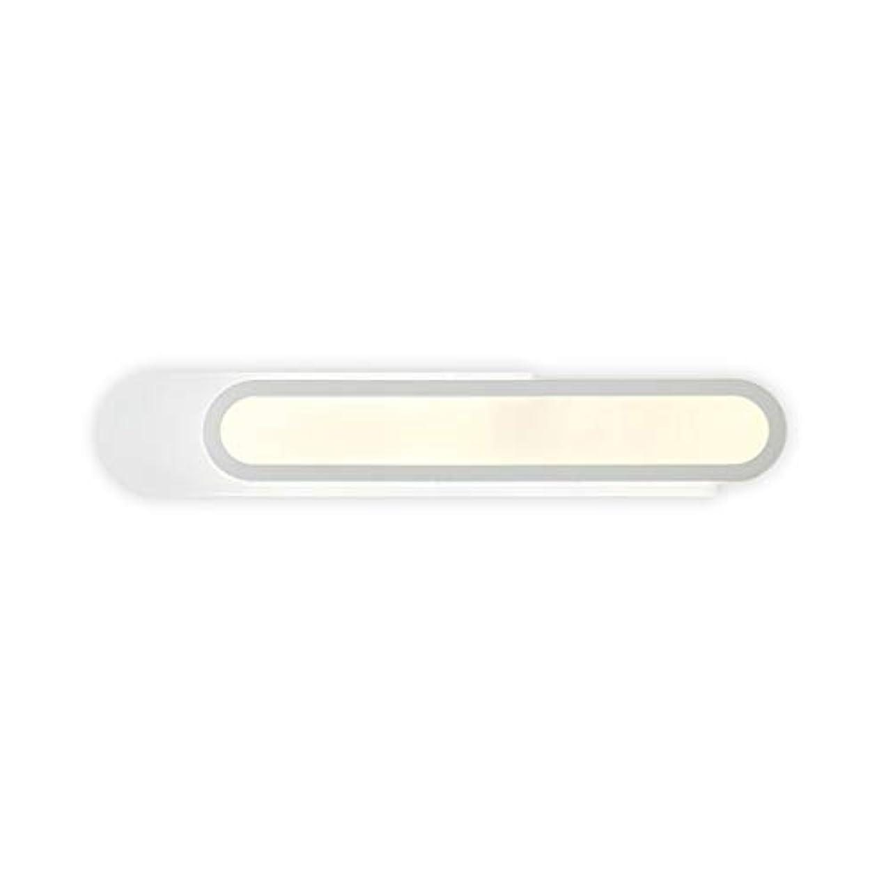 メタルラインコンプリート汚れた風呂場照明 ミラーフロントライトシンプルなパーソナリティリングLEDアクリル多機能ウォールランプ 浴室灯 (Color : Warm light, Size : 37W/50CM)
