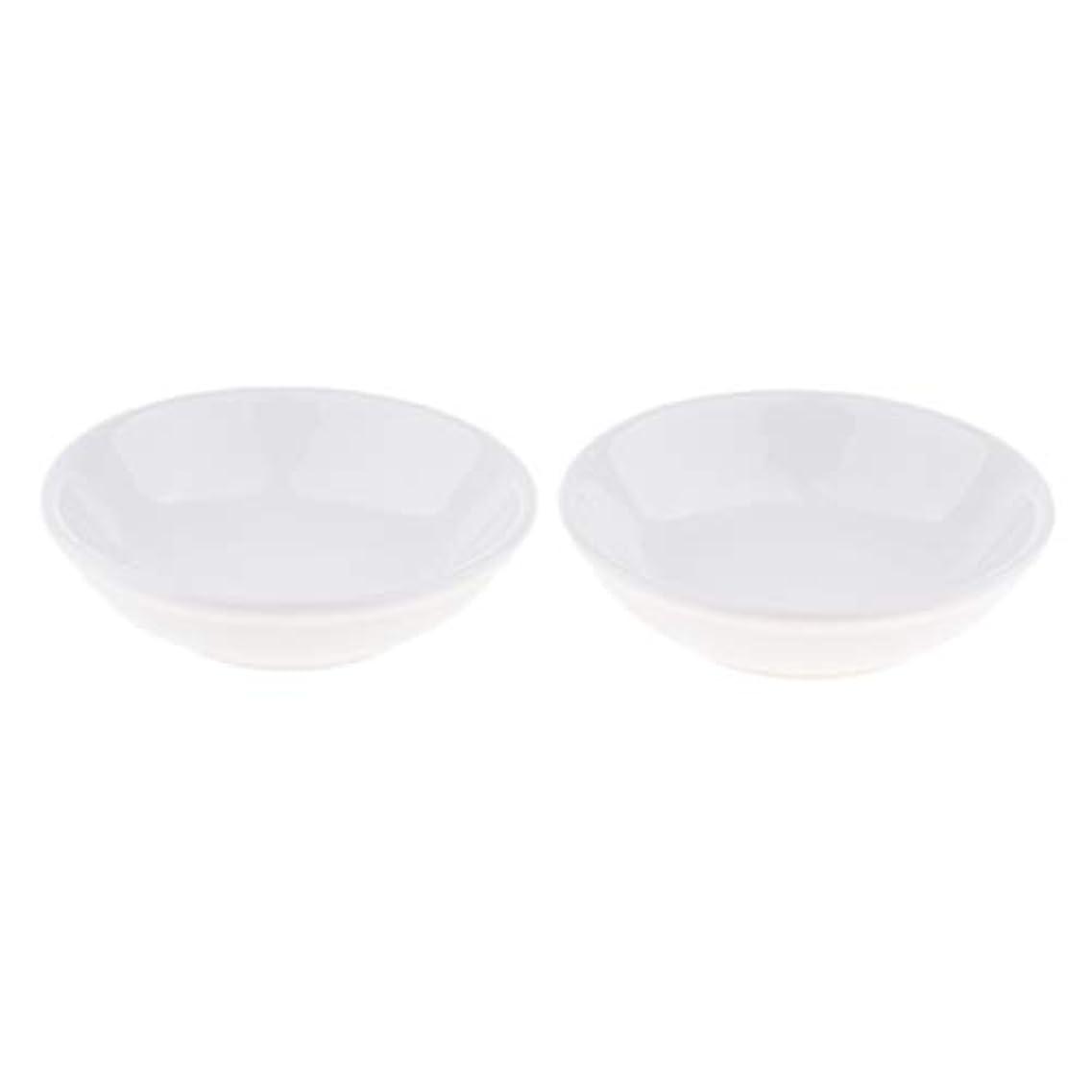 誓約リーズバンケットディッシュ 皿 セラミック オイルウォーマー 取り替え用 装飾 置物 2個入