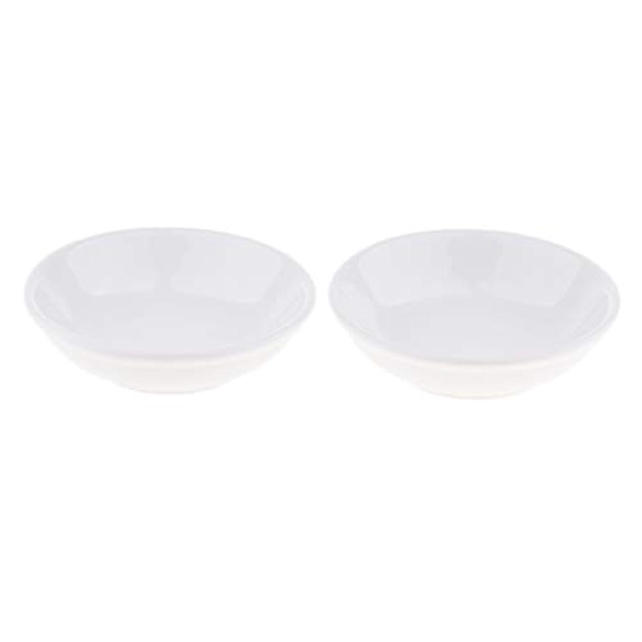 消化器麻痺させるおもちゃディッシュ 皿 セラミック オイルウォーマー 取り替え用 装飾 置物 2個入