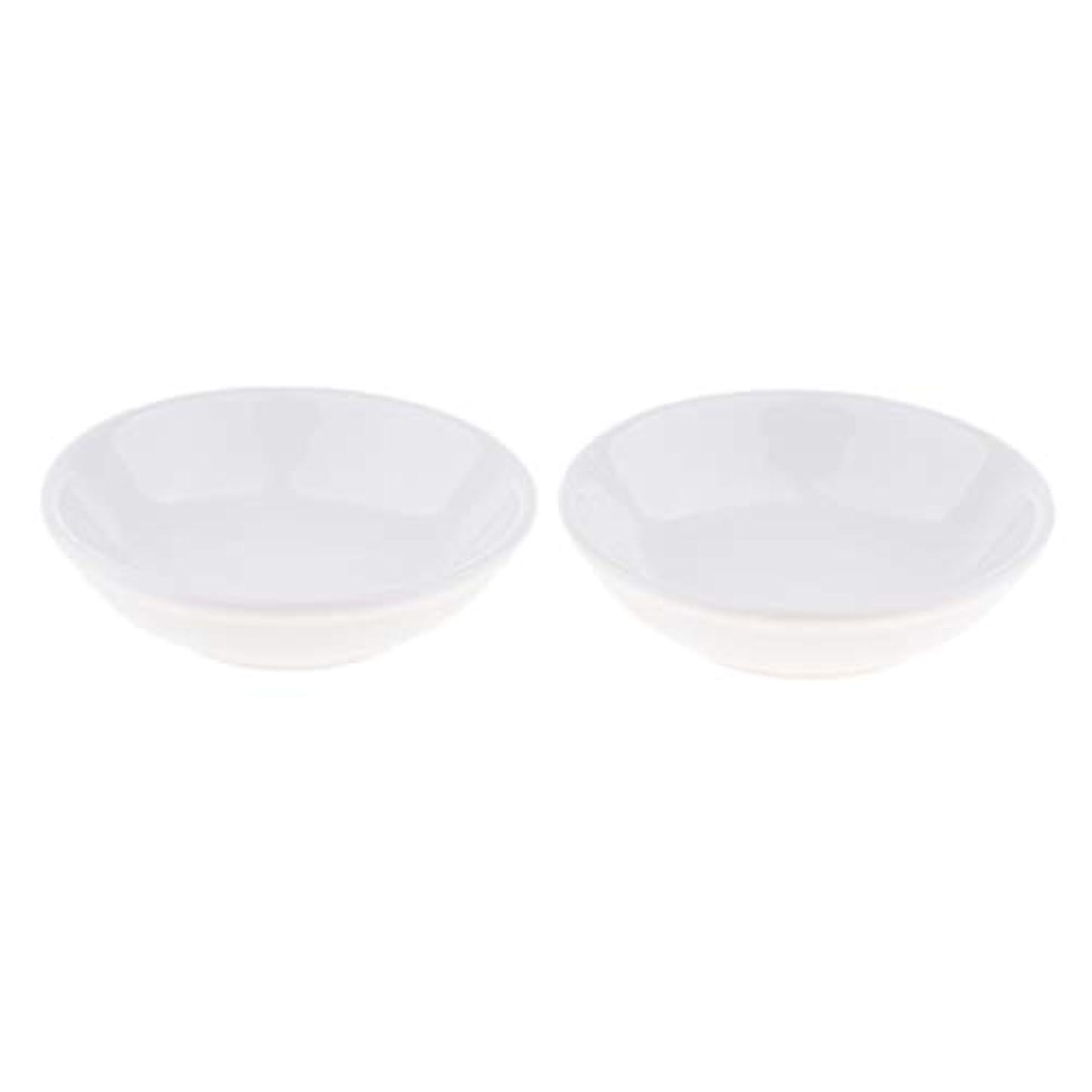 価値リットルバーストディッシュ 皿 セラミック オイルウォーマー 取り替え用 装飾 置物 2個入