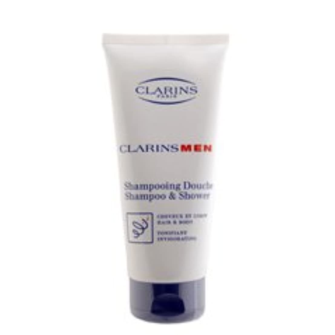 冷ややかなブレス安全クラランス(CLARINS) クラランスメン シャンプー&シャワージェル 200ml [並行輸入品]