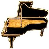 ハンブルク・スタインウェイ グランドピアノ ピン Hamburg Steinway Piano Pin 529 (黒)