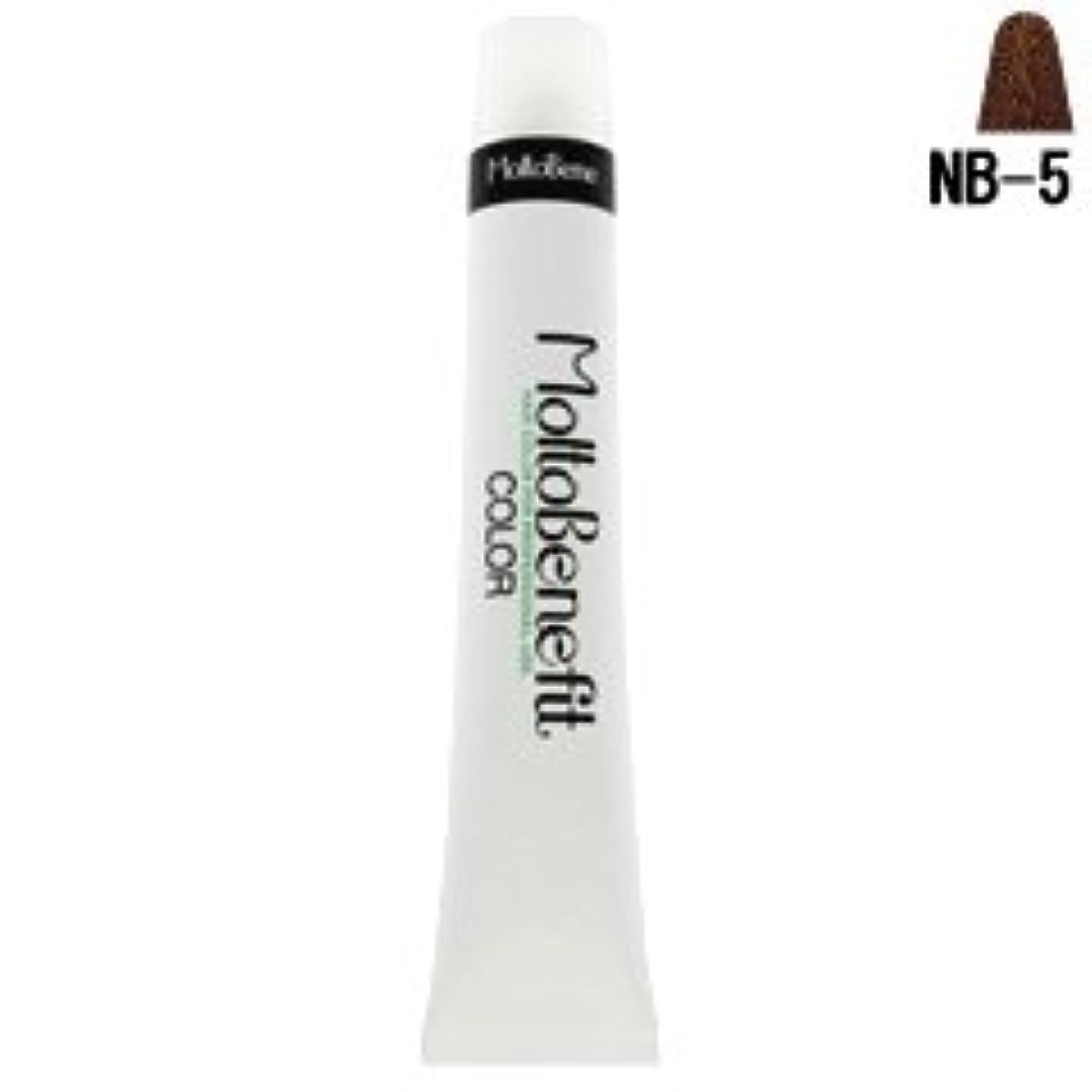 ドック眠り頭【モルトベーネ】フィットカラー グレイナチュラルカラー NB-5 ナチュラルブラウン 60g