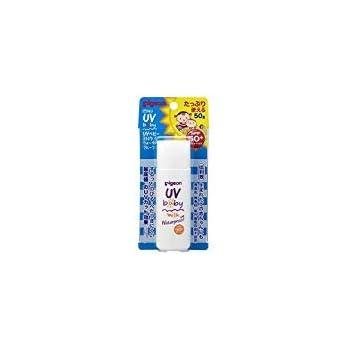 ピジョン UVベビーミルク ウォータープルーフ SPF50+ 50g