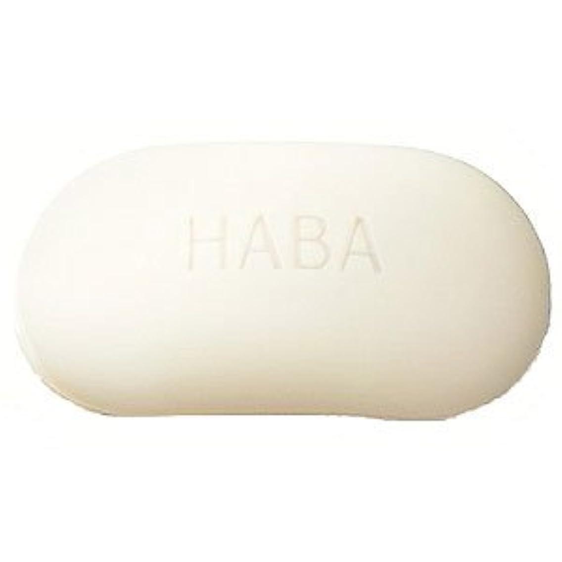 神協力的振り向くHABA 絹泡石けん 2個組<HABA/ハーバー(ハーバー研究所)>