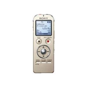 SONY ステレオICレコーダー FMチューナー付 4GB シャンパンゴールド ICD-UX533F/N