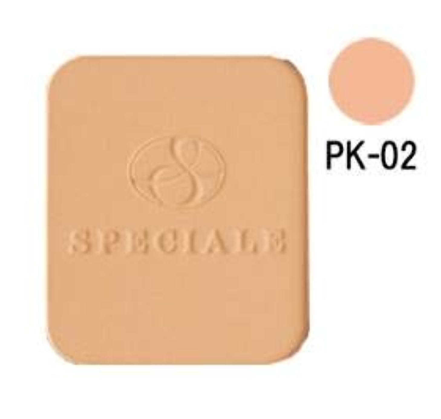 サロン代数的頬ノエビア スペチアーレ グロウコンパクト PK-02(リフィール/スポンジ付)(13g)