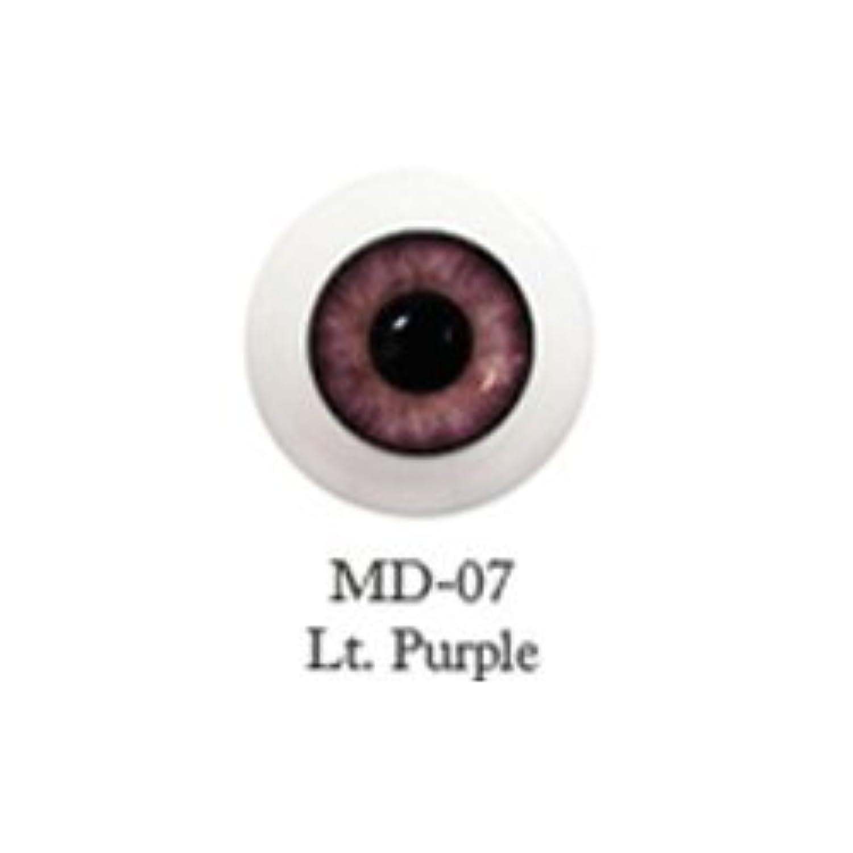 ドール用アクリルアイ ミスティックアイ 18mm 【MD-07ライトパープル】(並行輸入品)