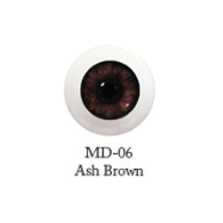 ドール用アクリルアイ ミスティックアイ 18mm 【MD-06アッシュブラウン】(並行輸入品)