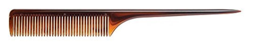 嵐が丘バッジ形状Diane Thick Rat Tail Comb, 9 Inch, 12 Count [並行輸入品]