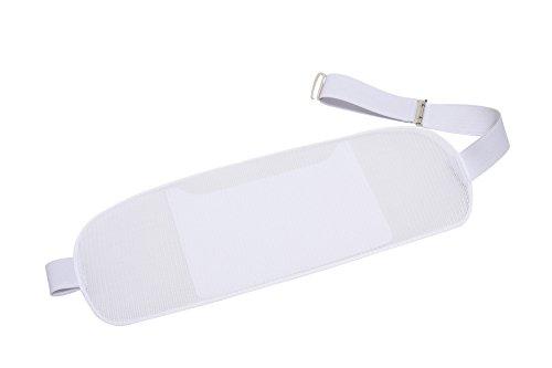 ハセガワ 浴衣 着物 着付け用 メッシュ帯板 ベルト付 日本製 (標準)