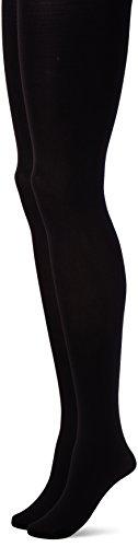 (セシール)cecile タイツ・2足組(110デニール) PT-228 35 ブラック L-LL