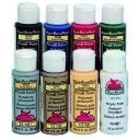 Apple Barrel 2 Oz. Non-Toxic Multi-Purpose Acrylic Paint Set, Set - 8