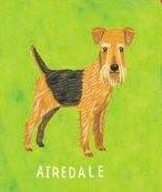 Crocodile Creek Two-sided Puzzle Airedale/Great Dane