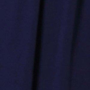Sweet Mommy マタニティ 授乳服 ワンピース シンプル着痩せドレス 授乳口付き フロントギャザー 大きいサイズ 小さいサイズ コットン裏地付き 7分丈 【フローラ】 春 夏 秋 上品 お宮参り フォーマル オフィス 産前産後 フォーマル ネイビー L