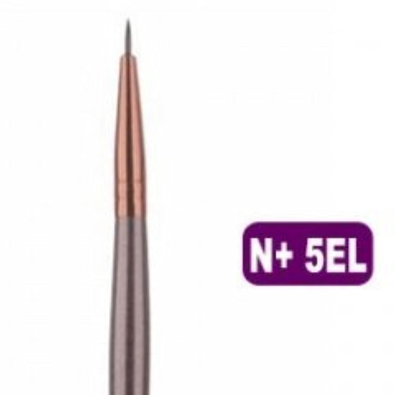 役に立つ粘り強い揺れるメイクブラシ 化粧筆 アイラインブラシ 極細 N+ 5EL