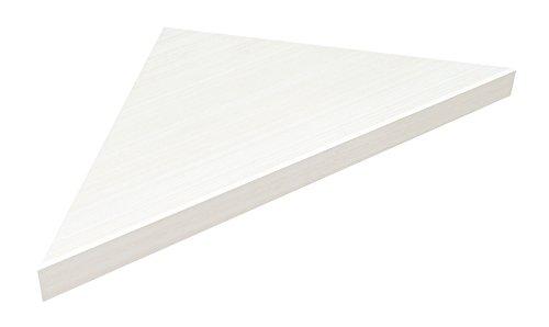 RoomClip商品情報 - 南海プライウッド 飾り棚 リブニッチ コーナータイプ ホワイトオバンコール 40×380×380mm LNC4303-WV