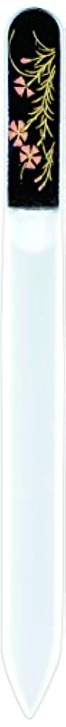 地上のモーターボット橋本漆芸 ブラジェク製高級爪ヤスリ 七月 朝顔 紙箱