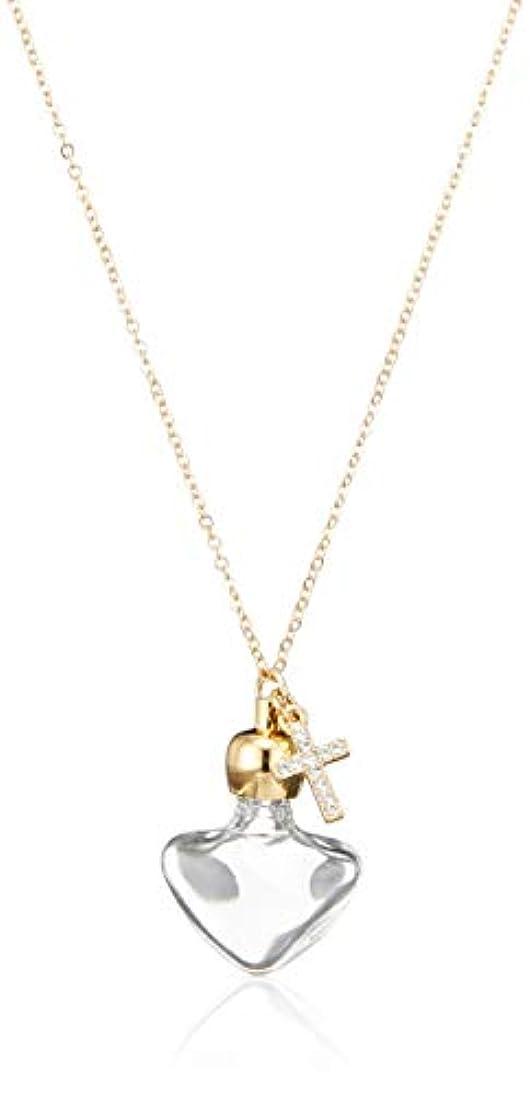 いろいろ海洋応援するヒロセアトマイザー 飾り付 アロマペンダント密閉栓タイプ 15070P クリアークロス (ゴールド)