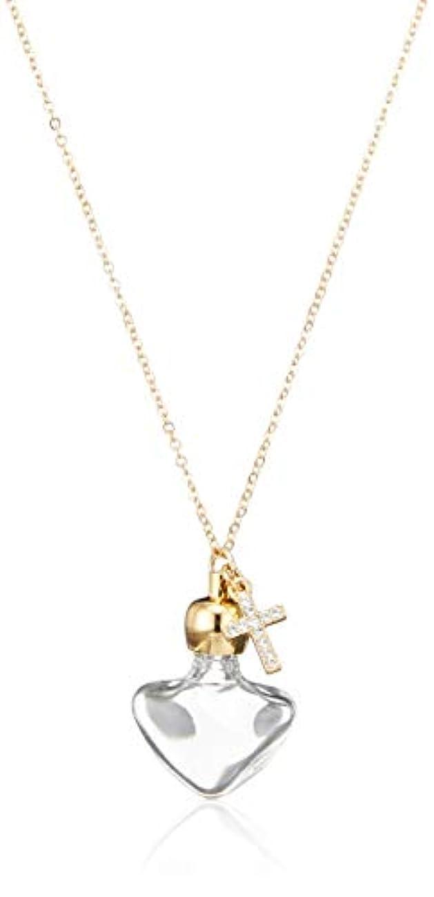 スカープスリップシューズカップルヒロセアトマイザー 飾り付 アロマペンダント密閉栓タイプ 15070P クリアークロス (ゴールド)