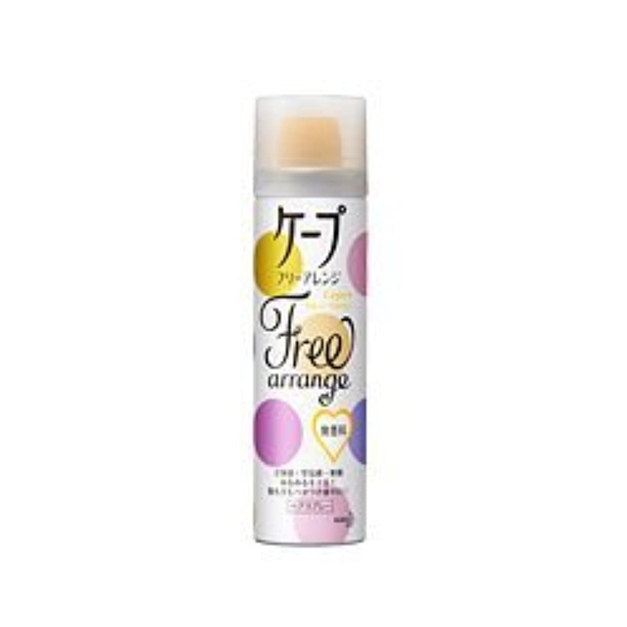 電報動詞報告書【花王】ケープ フリーアレンジ 無香料 42g ×5個セット