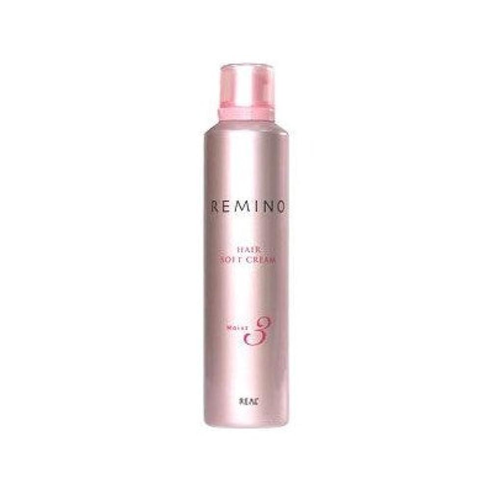 頑張るフォーム化学【X2個セット】 リアル化学 レミノ ヘアソフトクリーム3 240g
