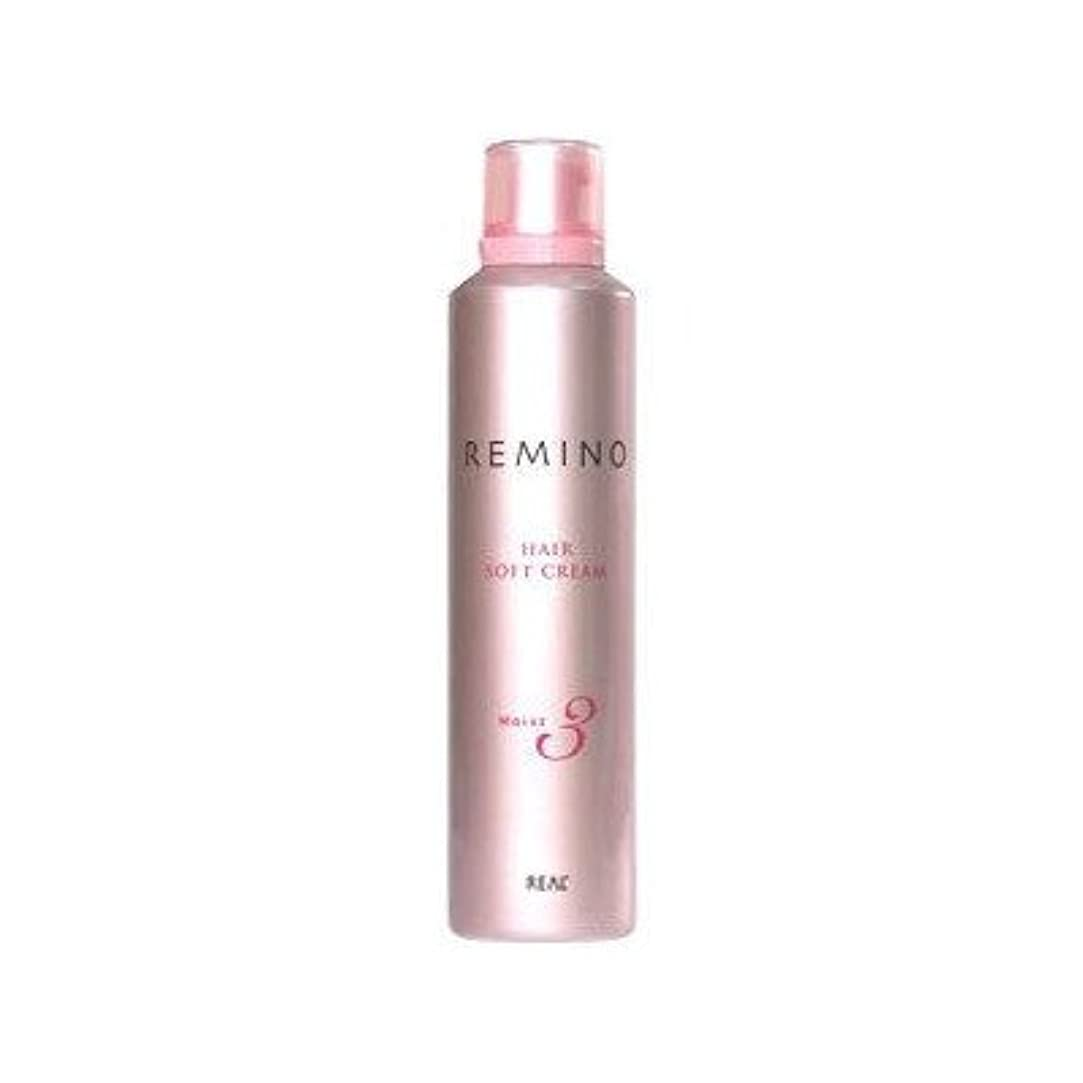 【X2個セット】 リアル化学 レミノ ヘアソフトクリーム3 240g