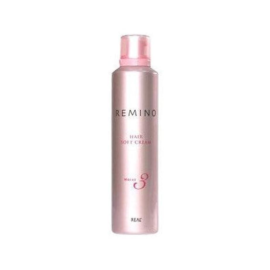【X3個セット】 リアル化学 レミノ ヘアソフトクリーム3 240g
