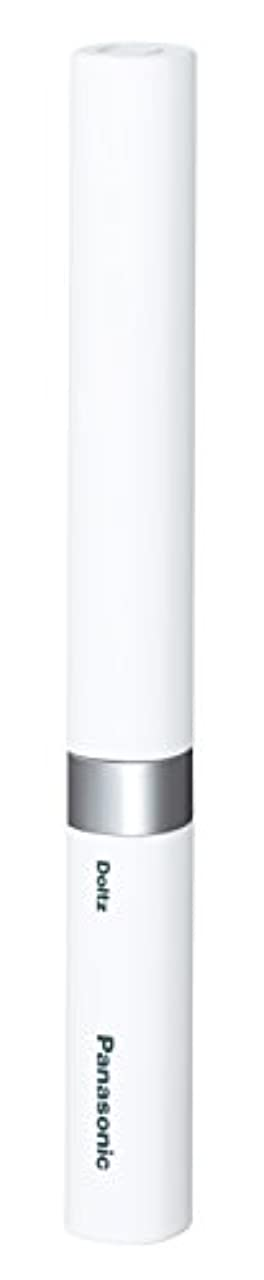 メッセージアレキサンダーグラハムベル商人パナソニック 電動歯ブラシ ポケットドルツ 極細毛タイプ 白 EW-DS42-W