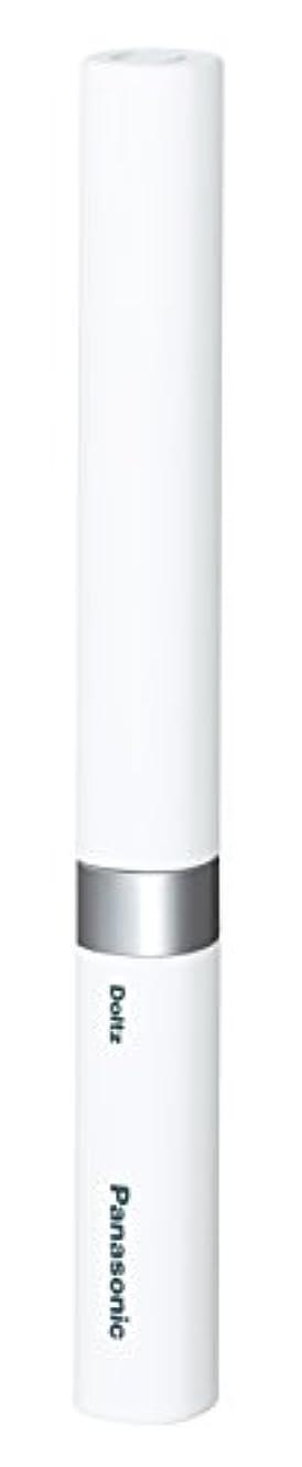 カーフすずめ荒れ地パナソニック 電動歯ブラシ ポケットドルツ 極細毛タイプ 白 EW-DS42-W