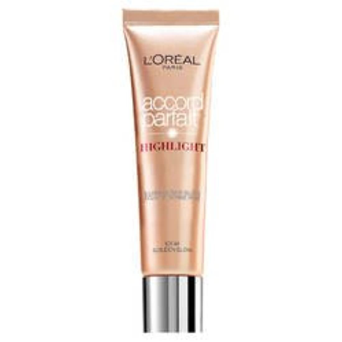 きちんとした自分のために志すL 'Oréal Paris - ACCORD PARFAIT Highlight Enlumineur Liquide - 101 Dore