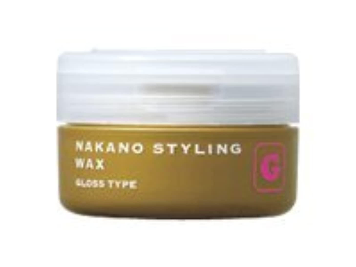 ビリー卑しい後方ナカノ スタイリングワックス G グロスタイプ 90g 中野製薬 NAKANO