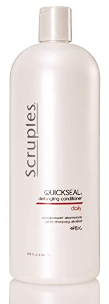 ツーリスト神経衰弱観光Scruples Quickseal Conditioner, 33.8 Fluid Ounce by Scruples