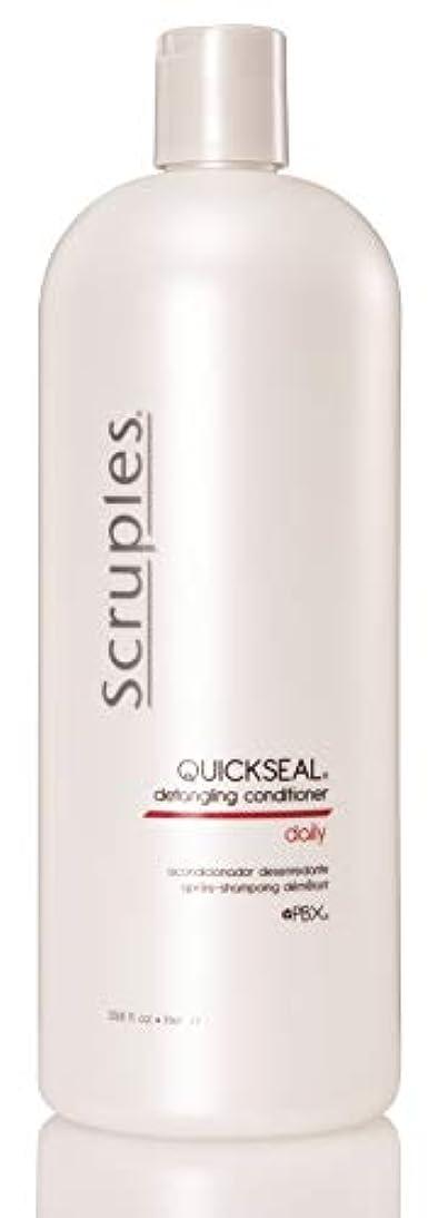 カウント発信広大なScruples Quickseal Conditioner, 33.8 Fluid Ounce by Scruples