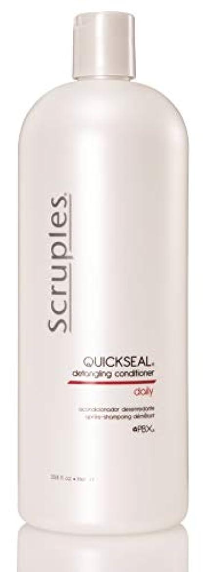 北米たくさん適切にScruples Quickseal Conditioner, 33.8 Fluid Ounce by Scruples