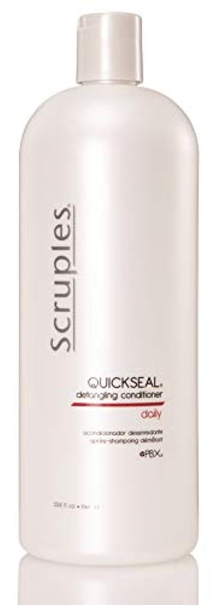 大洪水無駄池Scruples Quickseal Conditioner, 33.8 Fluid Ounce by Scruples