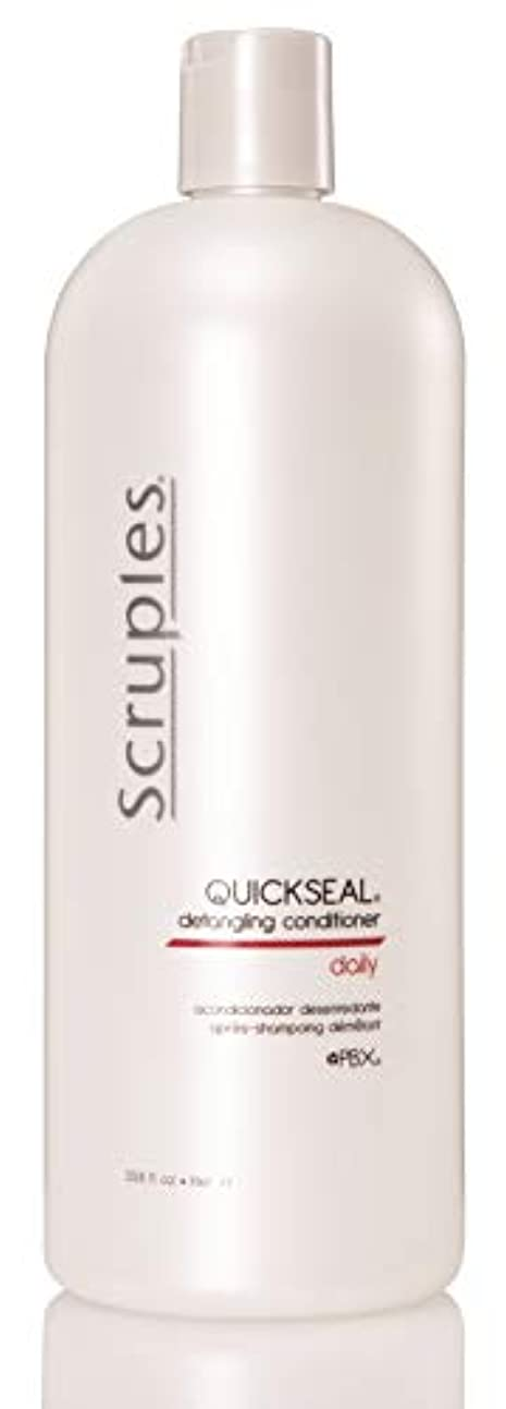 キャプテン硬さグリップScruples Quickseal Conditioner, 33.8 Fluid Ounce by Scruples
