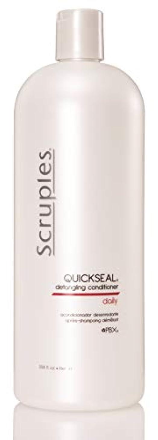 導体エンジン刈るScruples Quickseal Conditioner, 33.8 Fluid Ounce by Scruples