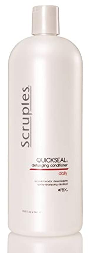 解放するぞっとするような泳ぐScruples Quickseal Conditioner, 33.8 Fluid Ounce by Scruples