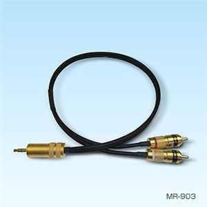 SAEC MR-903/1.0 ミニ RCAケーブル  MR903/1.0