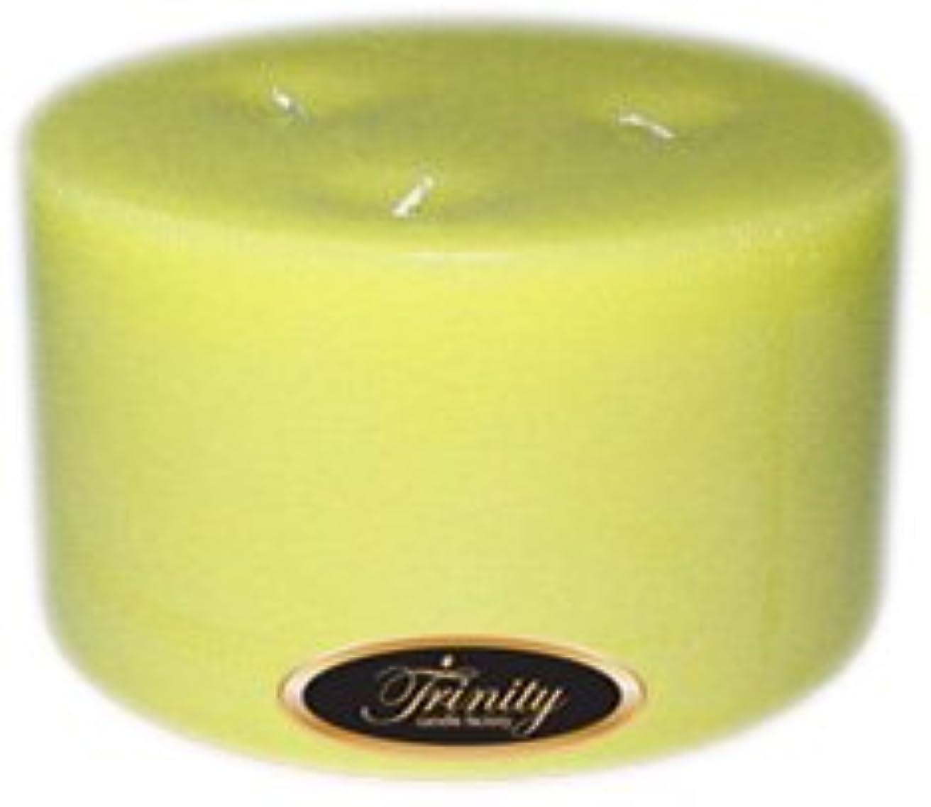 連鎖通路利得Trinity Candle工場 – Gardenia – Pillar Candle – 6 x 3